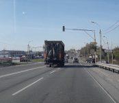 Дорожные службы обезопасили выезд-въезд в Агролес на трассе Р-256 в Бердске