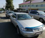 Chevrolet Tracker наехал на Toyota Camry в Бердске