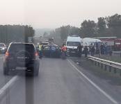 4 человека пострадали в жёстком ДТП на трассе под Бердском