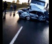 Три человека погибли в тройном ДТП на трассе Р-256