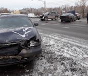 Двое пострадали в жёстком ДТП на трассе в Бердске