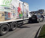 Грузовики разбушевались: две аварии по вине большегрузов произошло в Бердске