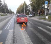 47-летнюю женщину сбила иномарка на переходе в центре Бердска