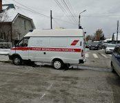 Бердская скорая помощь попала в аварию на перекрёстке в Бердске