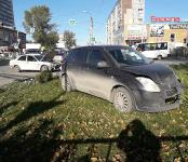 Suzuki Swift vs Mitsubishi Lancer: не разъехались на перекрёстке в центре Бердска
