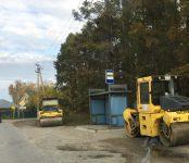 Новосибирцы заканчивают  ремонт автодороги за посёлком Новый в Бердске
