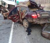 Три человека погибли в тройном ДТП на трассе в НСО