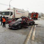 Водитель спортивной «Мазды» погиб на трассе в Бердске