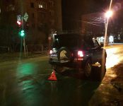 Мужчина-пешеход 40-45 лет пострадал от внедорожника на переходе в центре Бердска