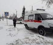 «Тойота Калдина» сбила пенсионера на переходе в Бердске