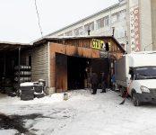 Молодой мужчина погиб на пожаре в СТО в центре Бердска