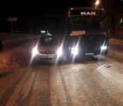 Междугородный автобус из Усть-Каменогорска устроил тройное ДТП в Бердске