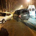 Маршрутка №18 попала в ДТП в Бердске