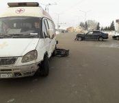 Неотложка из областного центра столкнулась с «Хондой» на перекрёстке в Бердске