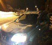Водитель Toyota Opa не увидел находящийся впереди себя Nissan X-Trail и протаранил его в Бердске