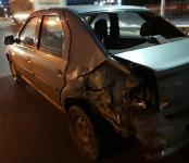 После дождя три машины столкнулись на трассе в Бердске