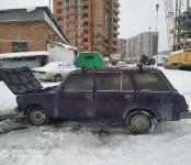 В пятницу 13-го в Бердске загорелась «четвёрка»