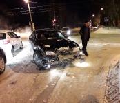 Два утренних ДТП в Бердске обошлись без пострадавших