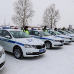 73 автомобиля Skoda Octavia получили сотрудники ГИБДД в НСО