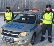 Инспекторы ДПС помогли отставшему пассажиру продолжить маршрут междугороднего следования