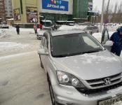 «Могильные оградки», заваленные снегом, спровоцировали ДТП в Бердске
