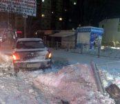 Пьяный «гонщик» на «Тойоте» сбил дорожное ограждение недалеко от «Монетки» в Бердске
