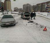 «День жестянщика» для трёх авто случился в Бердске в последний день зимы