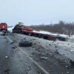 Смертельное ДТП: лоб в лоб столкнулись две фуры MAN на трассе в Новосибирской области