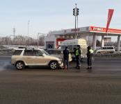 12-я маршрутка попала в ДТП на въезде в Бердск