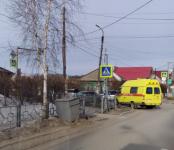 Ударилась грудью водительница «Тойоты» в ДТП на перекрёстке в Бердске