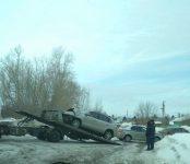 Опасный переезд: второй за месяц автомобиль столкнулся с поездом под Бердском