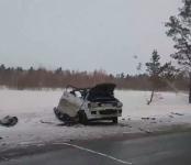 Серьёзная авария с грузовиком на трассе Р-256 в Искитимском районе: одного из водителей госпитализировали