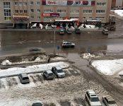 Паводок-2020 в Бердске: начало