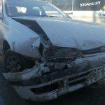 Жёсткое столкновение двух авто в военном городке Бердска обошлось без пострадавших