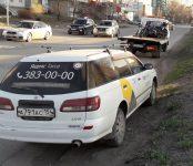 Под «Яндекс.Такси» попал мотоциклист в Бердске