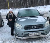 Светло-зелёный Toyota RAV4 с царапиной по левому борту угнали ночью в Бердске
