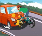 О «дорожных ловушках»  рассказали велосипедистам в ГИБДД региона и предложили поучаствовать в викторине