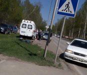 Воскресное столкновение автомобиля и велосипедиста в Бердске обошлось без пострадавших