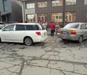 «Просто встретились два одиночества»: в Бердске столкнулись две иномарки