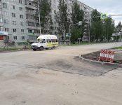 Отправили в «плаванье» улицу Лунная в районе «Семи ветров» в Бердске