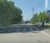 ГИБДД региона разыскивает чёрный Toyota Camry, сбивший насмерть пешехода в Бердске 9 мая
