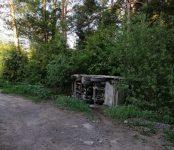В районе детского лагеря «Тимуровец» под Бердском перевернулся японский мусоровоз