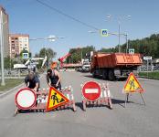 В ближайшее время перекопают улицу Лунная в Бердске, отреставрированную по программе БКАД в прошлом году