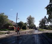 До окончания вечернего часа пик перекрыли улицу Красноармейская в Бердске