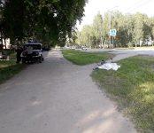 Велосипедист умер на обочине у пешеходного перехода в Бердске