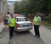 «Зелёный коридор» устроили сотрудники ГИБДД ради травмированного малыша в Новосибирске