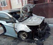 В результате поджога сгорел Hyundai Solaris в центре Бердска