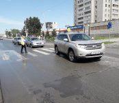 Toyota Highlander сбил молодого мужчину на переходе в Бердске