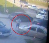 Орудует автомобильный вор на парковке у «Астора» в Бердске