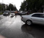 «Пьяный наезд» на пешехода и тройное ДТП зафиксировали сегодня в Бердске